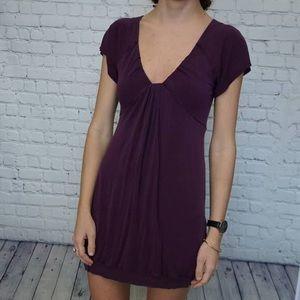 Wilfred size small black mini dress.